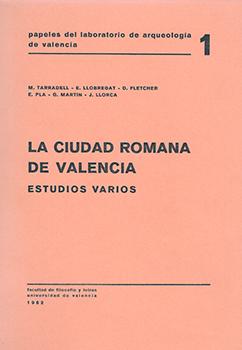 Portada del primer número de la revista Papeles del Laboratorio de Arqueología de Valencia