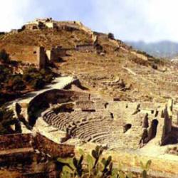 Vista general del teatro de Sagunt