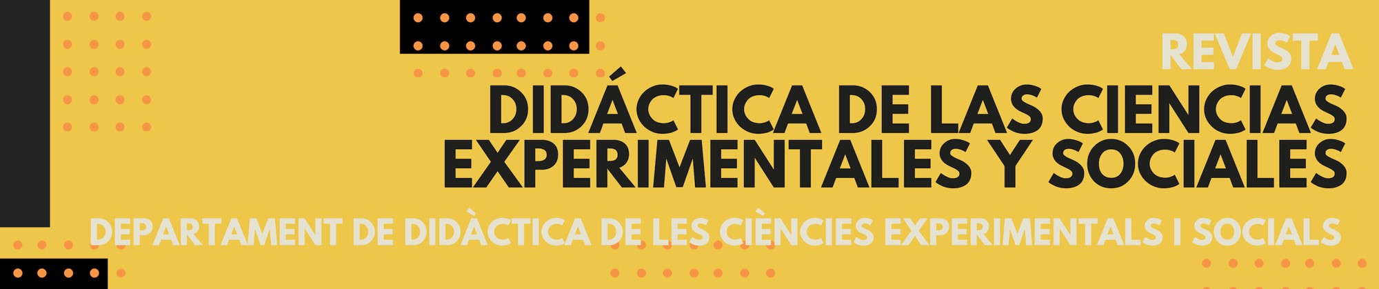 Didáctica de las Ciencias Experimentales y Sociales