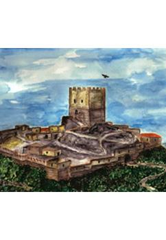 Acuarela del Castell de Turís