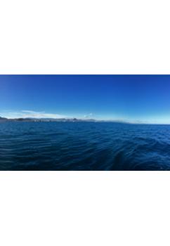 Vista del litoral del Montgó a Cullera