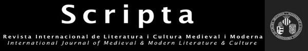 SCRIPTA - Revista Internacional de Literatura i Cultura Medieval i Moderna