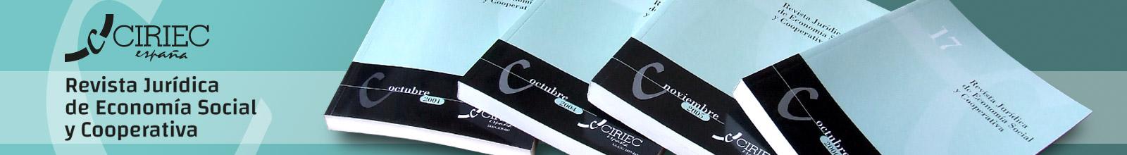 CIRIEC-España, revista de jurídica economía social y cooperativa